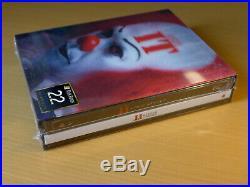 It (1990) Filmarena Black Barons #22 3D Lenticular XL Fullslip Steelbook Blu-ray
