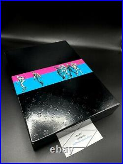 JOJOVELLER JoJo's Bizarre Adventure Art Book LTD STAND HISTORY with2 BLU-RAY discs