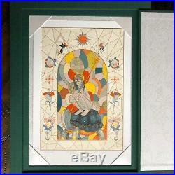 James Jean AZIMUTH Book STARGAZE SLIPCASE EDITION Signed Art Print in hand