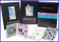 JoJo's Bizarre Adventure Art Book JOJOVELLER Limited Edition USED Free Ship
