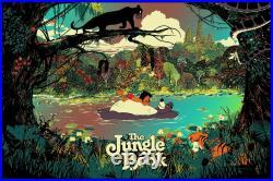 Jungle Book by Raid71 SIGNED Ltd Edition x/31 Poster Print Art MINT Mondo Movie