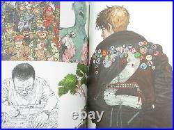 KATSUHIRO OTOMO Illustration Book GENGA & COMME des CARCONS Bag Ltd Art Set
