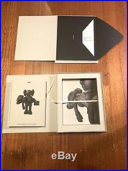 Kaws Companionship 2019 NGV Book And Print Box Set Limited Edition Of 750