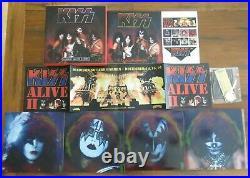 Kiss Madison Square Garden 1977 Box Set4LP Pic DiscBookPinLIMITED NEW