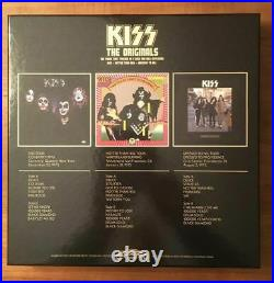 Kiss Originals I Box Set 3LP Picture Disc, Book, Posters NEWithNever Played