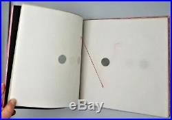 LIBRO ILLEGGIBILE, by Bruno Munari 1967 #1625/2000 Published Art Artist Book
