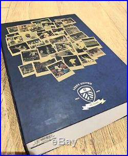 Leeds United Centenary Shirt & Book (1919-2019) Brand New In Box Limited Edition