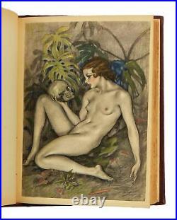 Les Fleurs du Mal Flowers of Evil Charles Baudelaire Book Original Illustrations