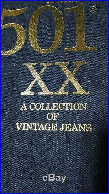 Levi THE 501 XX A COLLECTION OF VINTAGE JEANS book limited edition From JP F/S