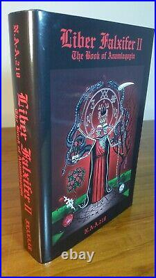 Liber Falxifer Collection N. A-A. 218 Sitra Achra IXAXAAR Occult Book Esoteric