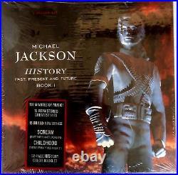 MICHAEL JACKSON HIStory-Past Present & Future Book 1 VINYL Box 1st Edition PROMO