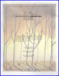 Mackenzie Thorpe BOOK A Crossroads Deluxe Limited Edition Book withStrange Fruit