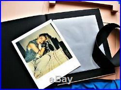 Madonna 66 Richard Corman Signed Book & Polaroid Strictly Limited Edt Box Set