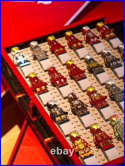 Marvel Avengers Iron Man Minifigure Collection Book Model Building Block Sets US