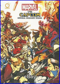 Marvel Vs Capcom UDON Official Complete Works SDCC Ex Limited Edition Hardcover