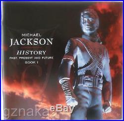 Michael Jackson History Past Present & Future Book 1 Vinyl Record Box Set Unopen