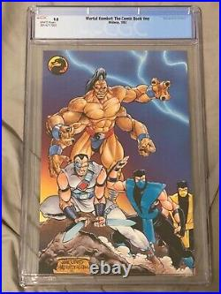 Midway Mortal Kombat Collectors Edition Comic Book #1 1992 CGC 9.0 Limited