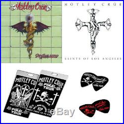 Motley Crue -The End(180g 6LP+7CD+DVD+Book+Prints+Pictures), Eleven Se BOX-set