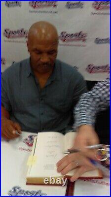 (Muhammad Ali + Mike Tyson) Signed Easton Press Book AUTO (Photo Proof)