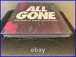NEW La MJC 2014 All Gone Finest of Street Culture Hardcover Book Dark RARE