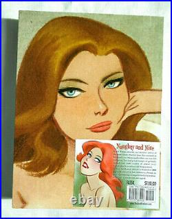 Naughty & Nice The Good Girl Art Of Bruce Timm Numberd Signed Slip Case Hard Cvr