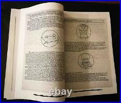 Necronomicon original book john dee occult dark rare grimoire dead evil satanic