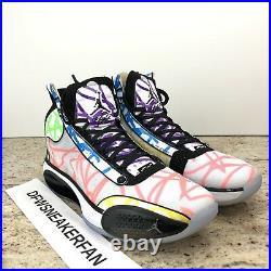 NikeAir Jordan XXXIV 34 Zion Williamson PE Coloring Book Noah DA1897-100 Mens 11