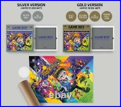 Nintendo Game Boy The Box Art Collection Gold Limited Edition Book SEALED / NEW