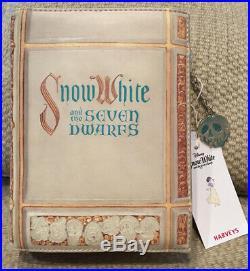 Nwt Harveys Disney Snow White Book Crossbody Clutch Seven Dwarfs Sold Out Rare