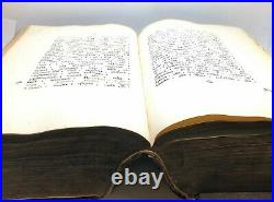 Old church religious book. Super BIG Book & RARE Charter Eye of the Church