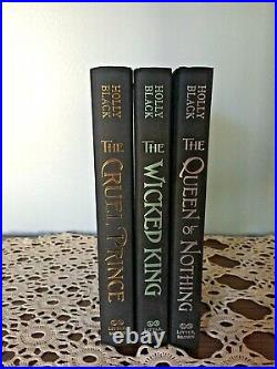 OwlCrate Exclusive Signed Cruel Prince Wicked King Queen of Nothing Holly Black