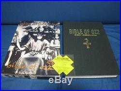 Ozzy Osbourne Bible of Ozz Japan CD Box w Book Patch Backle Black Sabbath