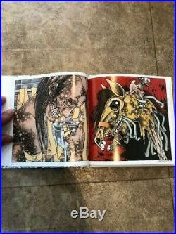 PUSHEAD art book, Sparrow No. 15, Signed