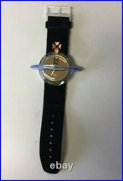 Pop Swatch 1993 Vivienne Westwood ORB Design WithBox & Flick Book- MINT Condition