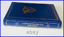 Robert Taylor Luftwaffe Fighter Aces Collection 24 signatures & Bios MINT