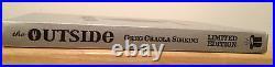 SIGNED Greg Craola Simkins The Outside Silver Edition Book Imscared LIMITED ED