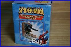 SPIDER-MAN VS VENOM & SANDMAN BOOKENDS Book Ends LIMITED EDITION Statue NEW