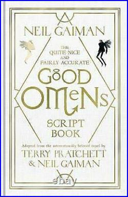 Signed Book Good Omens Script Book by Neil Gaiman Limited Deluxe Edition