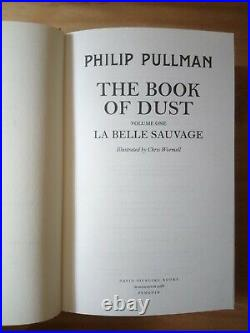 Signed Limited Edition The Book Of Dust Volume 1 La Belle Sauvage Philip Pullman