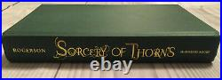 Sorcery of Thorns By Margaret Rogerson Fairyloot Edition Hardcover Book