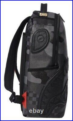 Sprayground 3AM Black Henny Black Backpack Shark In Paris Books Bag 910B3880NSZ