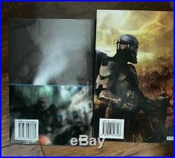 (Star Wars) Republic Commando 2 book set SFBC ed HB Very Rare