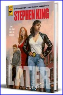 Stephen King LATER Hardcover Limited Ed only 2500 World Wide Print Over Run