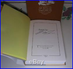 THE BOOK OF SWORDS SUBTERRANEAN PRESS (SIGNED BY 17 INC. George R R Martin) NEW