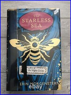 THE STARLESS SEA, signed Erin Morgenstern, Harvill Secker UK 1st/1st Stenciled