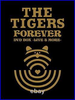 TIGERS-THE tigers FOEEVER DVD BOX -LIVE & MORE JAPAN 5 dvd+BOOK Ltd/Ed BJ45 qd