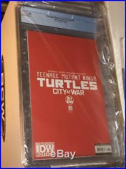 TMNT #95 SDCC CGC 9.8 LTD 200 COPIES 1ST APP OF JENNIKA TURTLE IDW Comic Book