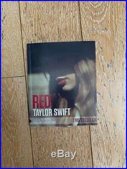 Taylor Swift RED Limited Edition RARE Book