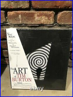 The Art Of Tim Burton New Sealed Standard Edition Book Ships Priority Mail