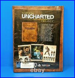 The Art of The Uncharted Trilogy Limited Edition Art Book Naughty Dog 2015 PS4